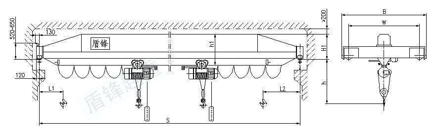 2016河北诺友厂家出口直销优质葫芦单梁起重机起重机非标可定做质量